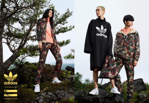 adidas Originals x Pharrell Outdoor Kollektion