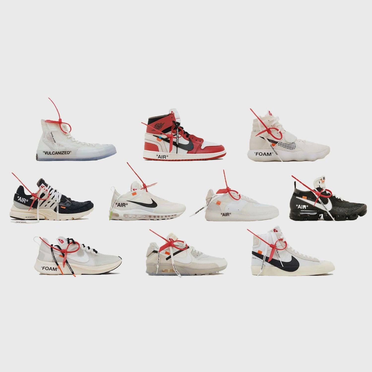 Virgil Abloh OFF WHITE x Nike THE TEN (Release) | Sneakers