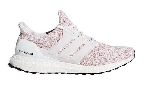 adidas UltraBoost 4.0 – White / Scarlet Red