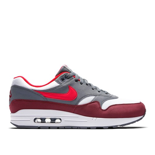 Nike Air Max 1 – White / University Red-Cool