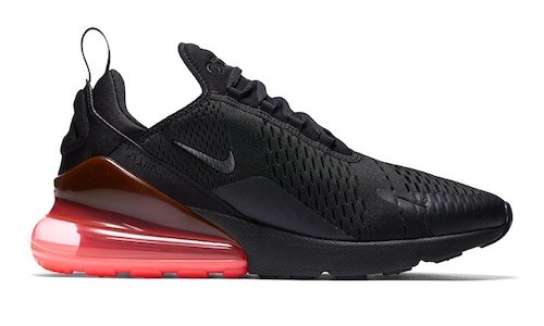 Nike Air Max 270 – Black / Hot Punch