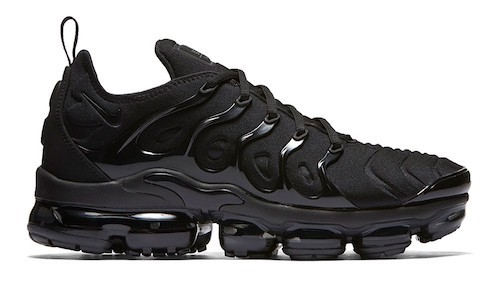 Nike Air VaporMax Plus – Black / Dark Grey