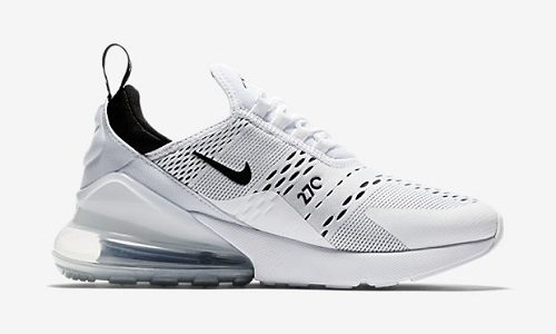 Nike Air Max 270 – White / Black / White