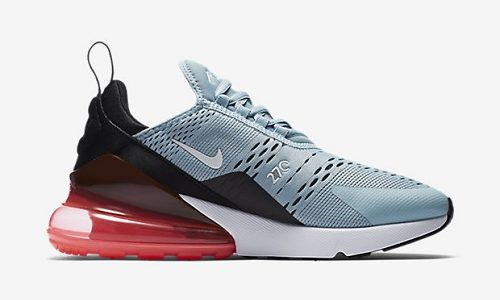 Nike Air Max 270 – Ocean Bliss / Black / Hot Punch
