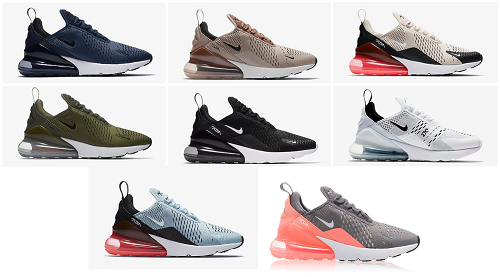 Nike Air Max 270 – inklusive Shopping Links |
