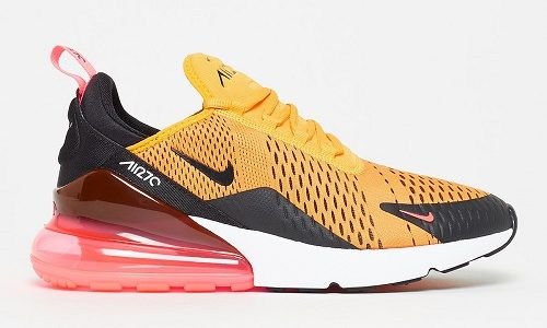 Nike Air Max 270 – University Gold / Hot Punch