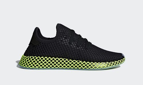 adidas Deerupt – Core Black / Ash Green