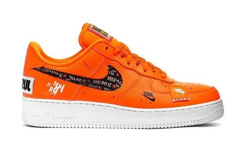 Nike Air Force 1 Just Do It Pack Orange