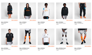 Nike x Off White Football Mon Amour