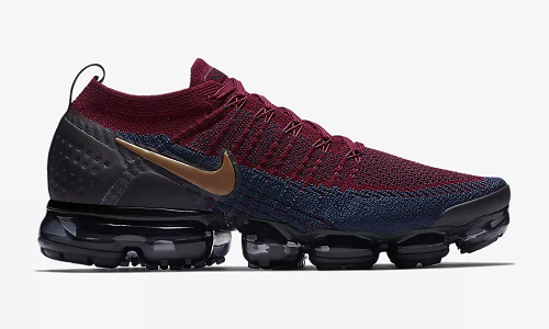 Nike Air VaporMax Flyknit 2 – Team Red / Obsidian