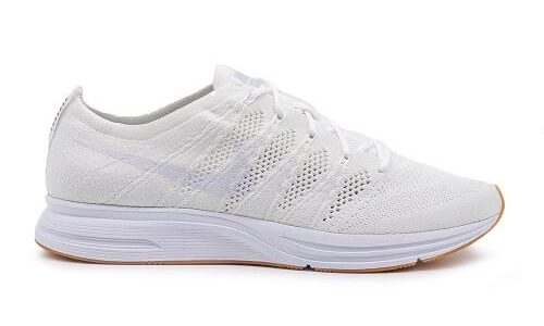 Nike Flyknit Trainer White / Gum Brown