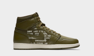 Nike Air Jordan 1 Olive Canvas