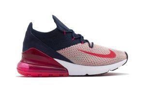 Nike Air Max 270 Flyknit Red Orbit