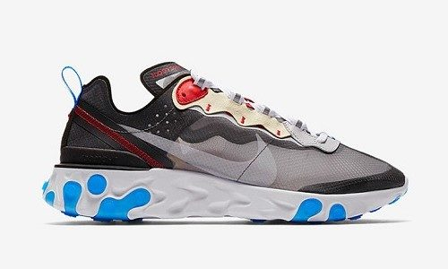 Nike React Element 87 Dark Grey / Pure Platinum