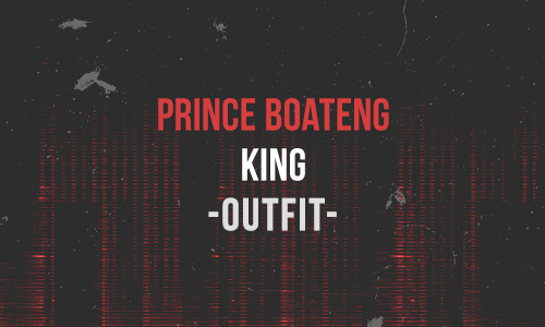 Prince Boateng King Outfit