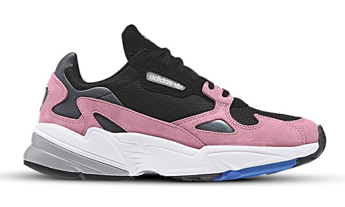 adidas Falcon Black Light Pink