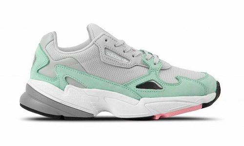 adidas Falcon Grey Easy Green