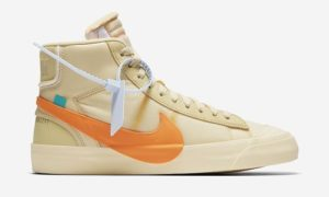 Nike Blazer Mid x Off White Orange