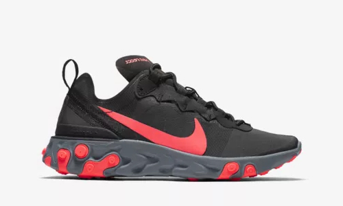 Nike React Element 55 Solar Red