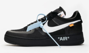 Off White x Nike Air Force 1 – Black / White