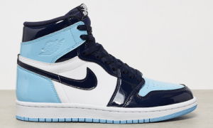 Nike Air Jordan 1 UNC Patent Blue Chill