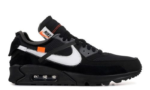 Off-White x Nike Air Max 90 Black White