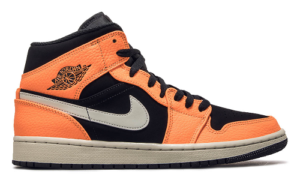 Nike Air Jordan 1 Mid Black Cone