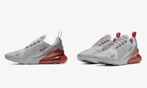 Nike Air Max 270 Wolf Grey Red