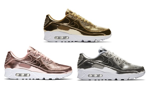 NIKE AIR MAX 90 LIQUID METAL PACK