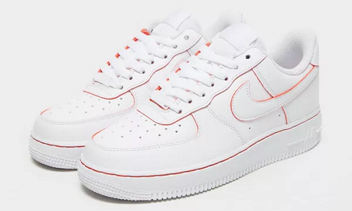 Nike Air Force 1 '07 LV8 White Red – hier kaufen | snkraddicted