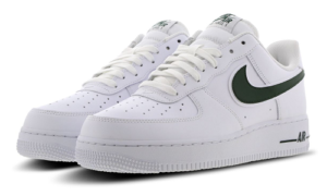 Nike Air Force 1 White Green Swoosh