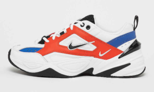 Nike M2K Tekno Blue Red