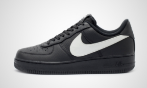 Nike Air Force 1 Black Big Swoosh