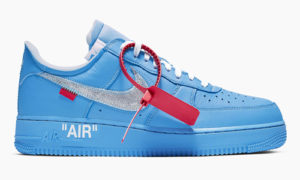 Off-White x Nike Air Force 1 MCA Blue