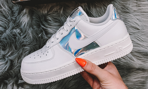 Nike Air Force 1 White Iridescent