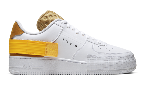 Nike Air Force 1 Low Type White Gold – hier kaufen
