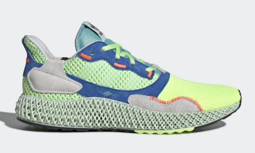 adidas ZX 4000 4D Hi-Res Yellow