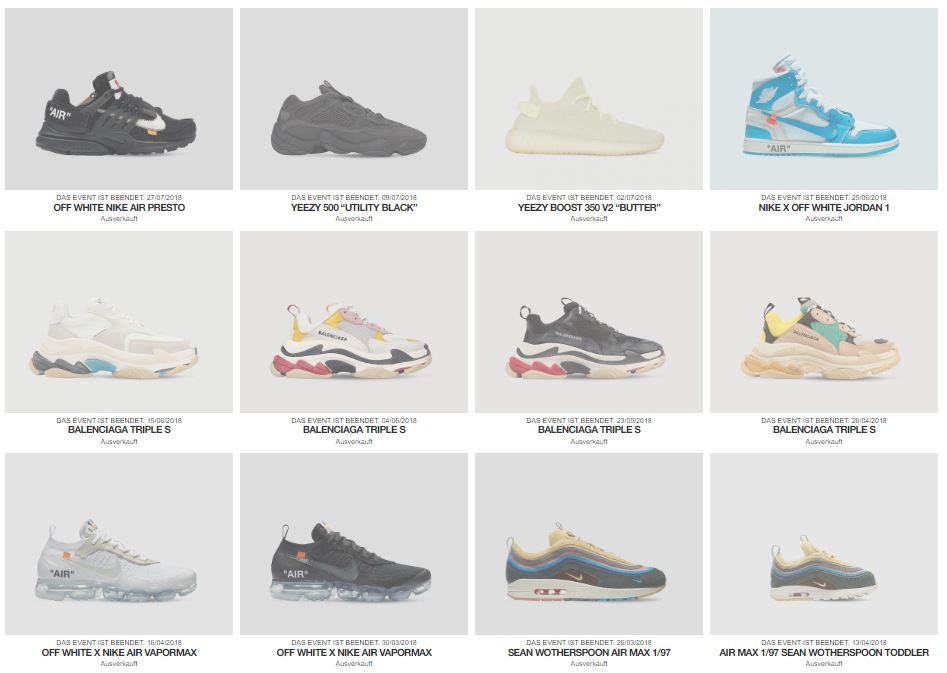 LVR Sneakers Club – alle Infos
