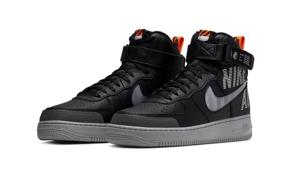 Nike Air Force 1 High Under Construction Black