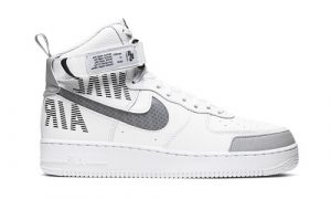 Nike Air Force 1 High Under Construction White