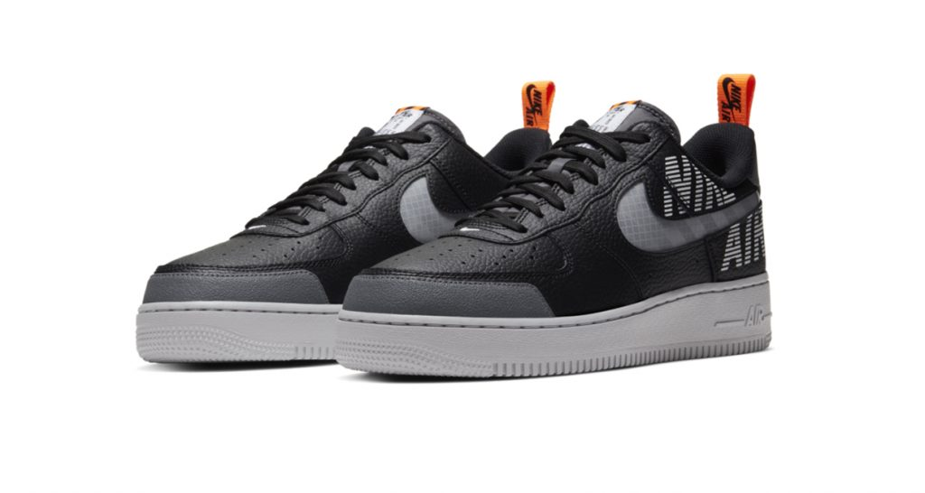 Nike Air Force 1 Under Construction Black