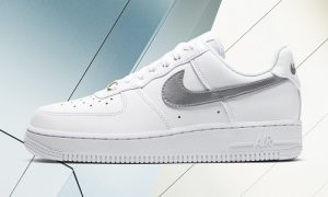 Nike Air Force 1 White Silver