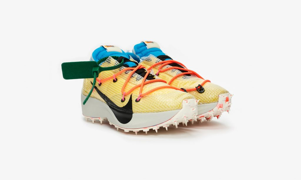 Nike x Off-White Waffle Racer SP Yellow