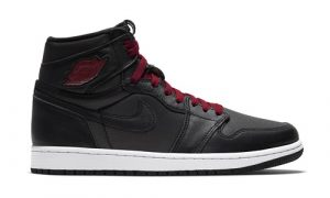 Nike Air Jordan 1 High Satin Black