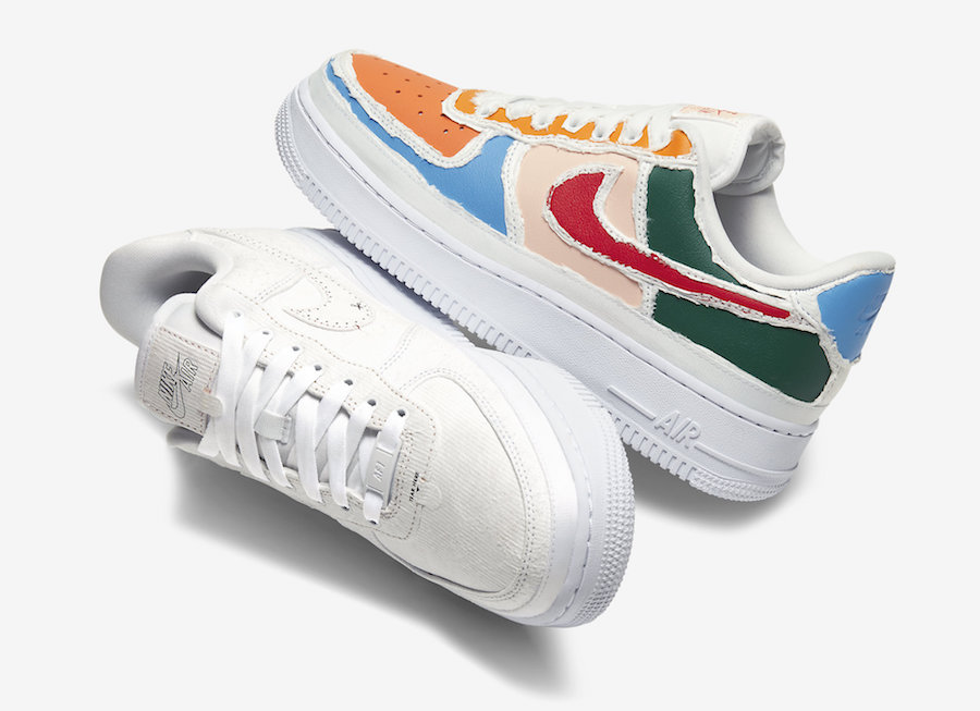 Nike Air Force 1 Multi Color Tear Away