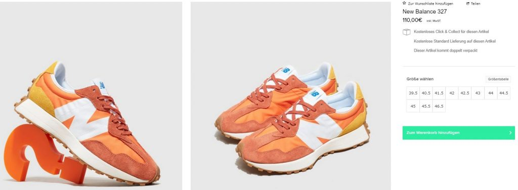 new-balance-327-Orange-White MS327CLB