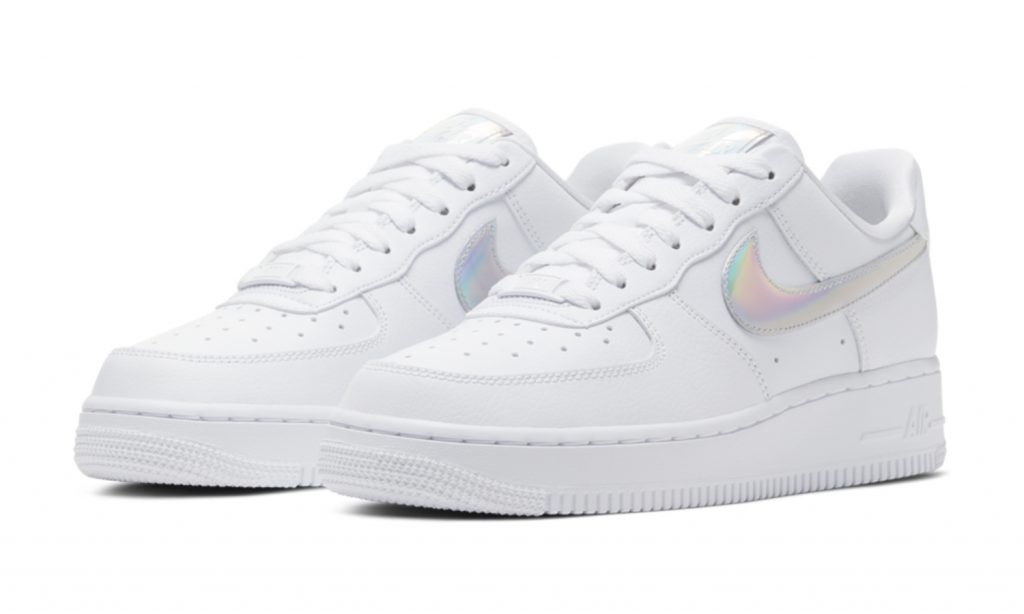 Nike Air Force 1 Low – White Iridescent | sneakerb0b RELEASES