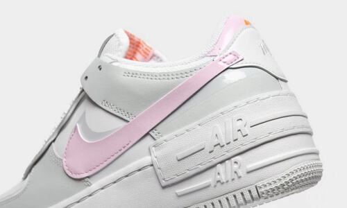 Nike Air Force 1 Shadow Grey Pink – hier kaufen | snkraddicted