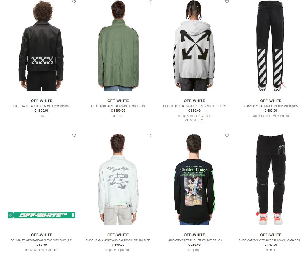 Off-White Sale