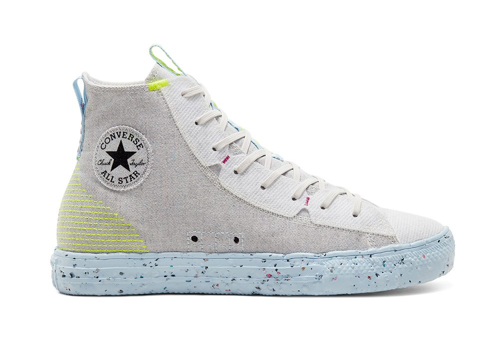 Converse Chuck Taylor All Star High Crater White | alle